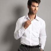 Классическая белая бизнес рубашка р.М Nobel League Германия