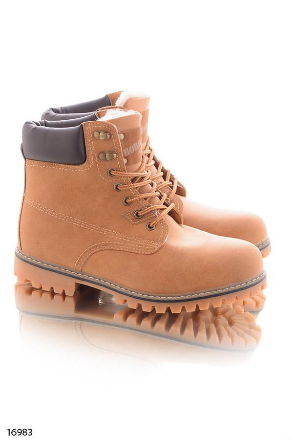 Зимние мужские высокие ботинки фото №1