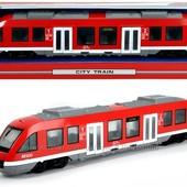 Городской поезд с функциональным элементами Dickie Toys 45 см, 3748002