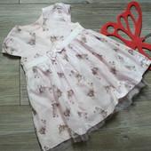 Платье с мишками тедди Matalan (12-18 мес)