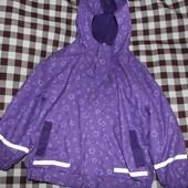 Дождевик, прорезиненная куртка 2-3 года