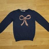 H&M (4-6 лет) стильный джемпер для девочки