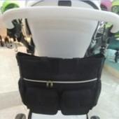 Сумка на коляску для мамы Vinng s1101-10sb Китай черный 12117035