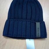 Теплая мужская шапка на флисе 54-58, разные цвета