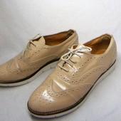 Manfield оригинальные кожаные полуботинки 38