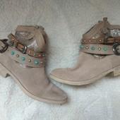 Шикарные деми ботинки Tamaris 26см