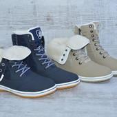 Стильные женские ботинки, два цвета