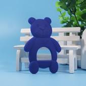 Силиконовый прорезыватель 'Мишка' BeaRoom Китай синий 1203129