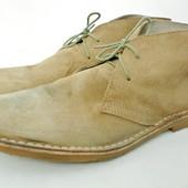 Стильные замшевые демисезонные ботинки George Размер 11/45 длина стельки 30,5 см