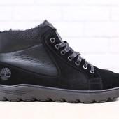 Ботинки в стиле Timberland, натур. кожа на меху, р. 40-45, код nvk-2900