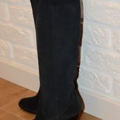 Сапожки замшевые  New Look ,размер 34-35