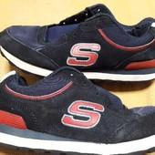 Замшевые кроссовки Skechers р.41-26см.