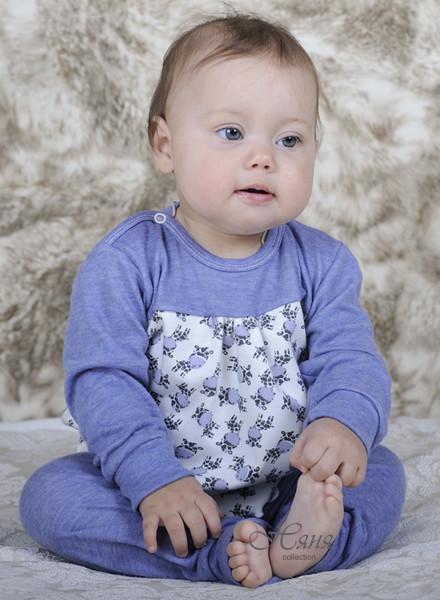 Нежная пижамка для девочки, пижама 17253 фото №1