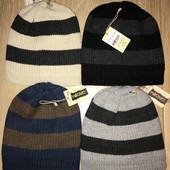 Тёплые вязанные шапки