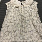 Блуза- туника next на 5-7лет