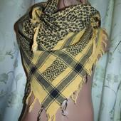 Стильная фирменная арафатка , шемаг, куфия, арабский платок, армейский шарф платок .Єгипет .