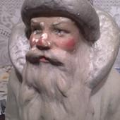 Дед Мороз. Гипс.