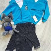 Вилюровый костюм на мальчишек от 6 месяцев до 2 лет.