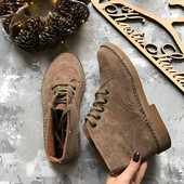 Натуральные мужские ботинки,р-р 40