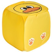 Корзина для игрушек Bambi, желтый, утенок
