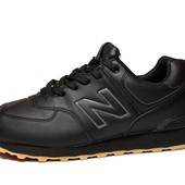 Спортивные мужские кроссовки, удобные и легкие (N-blk)