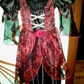 Карнавальное платье Tu на 5-7лет(110-122см)!Хеллоуин.