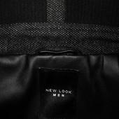 Мужское пальто темно серое шерстяное New Look Men S M