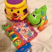 Fisher Price, Chicco интерактивные игрушки