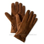 100% кожа.Мужские перчатки Велюровая кожа Tchibo 8,5р.