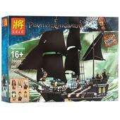 Детский конструктор 39009 пиратский корабль (840 деталей)
