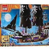 Детский конструктор Brick 1313 корабль пиратов (1456 детали)