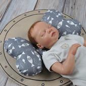 Ортопедическая подушка в автокресло и коляску для новорожденных Butterfly