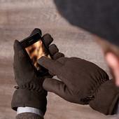 Перчатки сенсорные р-р; 8.5 и 9.5 от Тсм Tchibo Германия