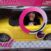 Кукла с машиной Кабриолет  6633