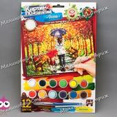 Набор для творчества Danko toys Картина по номерам, Осень