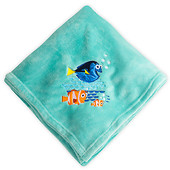 Disney Store Флисовый плед в поисках дори finding dory fleece throw blanket