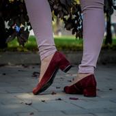 Новинка туфли натуральная замша / кожа код ЛЛ 28025
