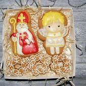 Наборы медово-имбирных пряников ко Дню Святого Николая