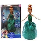 """Кукла """"Frozen"""" Анна, инерактивная, муз. свет"""
