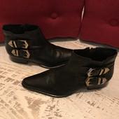 Ботинки із натуральної шкіри,від San Marina,розмір 36,стелька 24,5