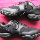 Capezio (43) кожаные танцевальные кроссовки джазовки мужские