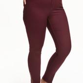 Штаны slim regular ankle jeans, H&M, XXL