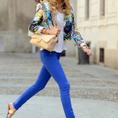 Яркие джинсы Denim на 12-13лет или на ХС