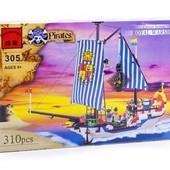 Конструкторы Brick  «Пиратская серия» арт.305 и 311