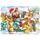 Пазл Castorland 30 дет Рождественская елка