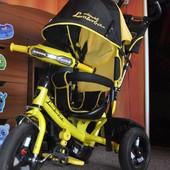 Велосипед Azimut Lambortrike Фара и надувные колеса
