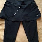 Спортивные штаны и юбка фирменная Nike Dri Fit р.48-50 L