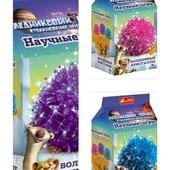 Набор для опытов Волшебные кристаллы. Ледниковый период 3 цвета