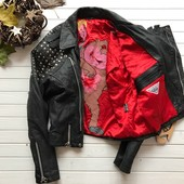 Эксклюзивная кожаная куртка косуха Avanti оригинал рр 52-54