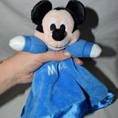 Фирменный комфортер полотенечко салфетка игрушка Дисней Disney Микки Маус
